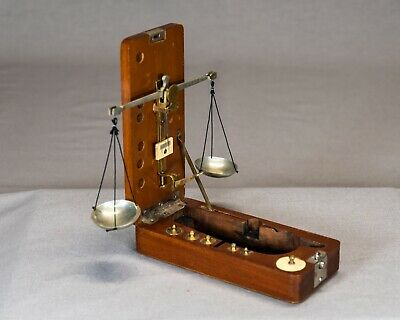Antique Jeweler's Gold Scale (H. Kohlbusch, New York, circa late 19th century)