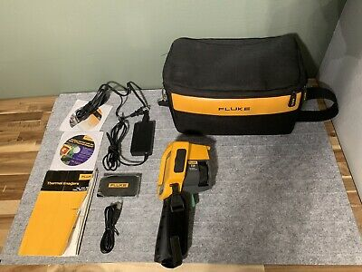 Fluke TiR Infrared Thermal Imaging Camera With Case Charger And More