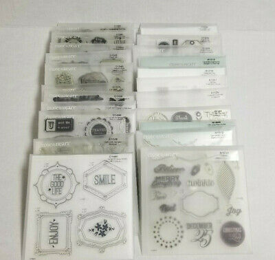 Close to My Heart Stamp Sets Various Sets - You Pick - Used and New