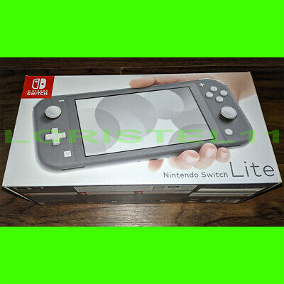 BRAND NEW - Nintendo Switch Lite - Gray - SHIPS TODAY IN-HAND