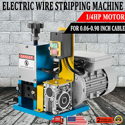 Metal Recycle Tool Electric Wire Stripping Machine Copper Cable Peeling Stripper