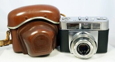 ZEISS IKON CONTESSA LKE, Carl Zeiss Tessar 2,8/50mm, beautiful w/ case NEAR MINT
