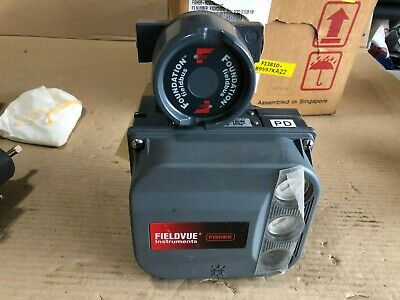 Fisher, Fieldvue, Controller and Valve, DVC6030