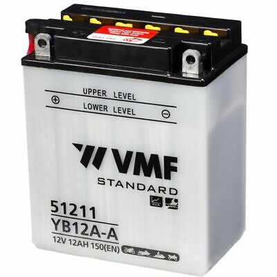 YB12A-A AGM Powerline Motorcycle Battery 12V 12Ah YB12AA-AGM