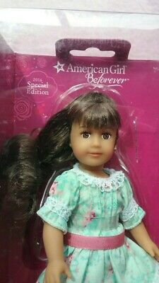 NEW AMERICAN GIRL SAMANTHA ™ 2016 SPECIAL EDITION MINI DOLL STAND /& BOOK