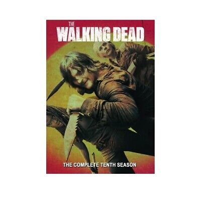 The Walking Dead season 10 (DVD, 4-Disc Set) USA SELLER. Free and Fast Shipping!