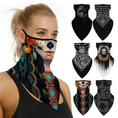 Neck Gaiter Bandana Sun Protection Headwear Windproof Breathable Scarf for