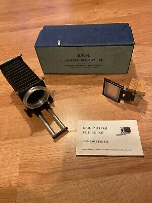 BPM UNIVERSAL BELLOWS UNIT - Nice Condition. Been Modified Slightly.