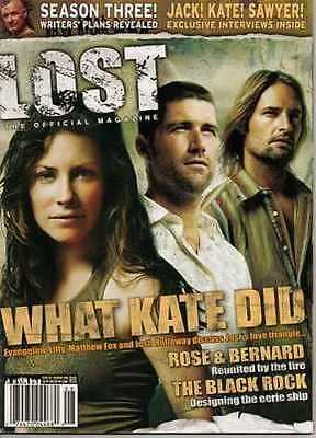 Lost Official Magazine - Josh Holloway (Sawyer) - Terry O'quinn - Lilly #5A