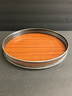 Vintage Mid Century Modern Bar Serving Tray