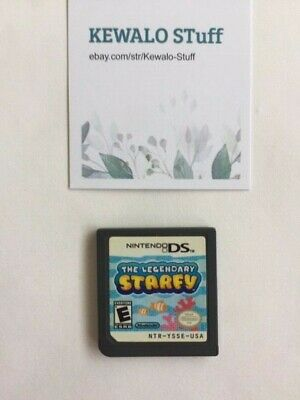 Nintendo DS The Legendary Starfy Game Cartridge Only Tested