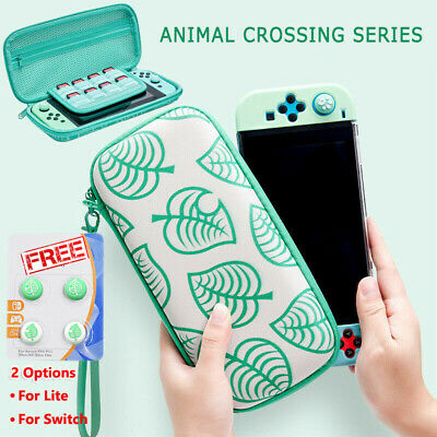 Animal Crossing Carrying Case Console Card Storage Bag For Nintendo Switch/Lite