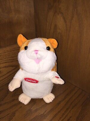 CHATIMALS Talking Interactive Hamster Plush Electronic Voice Recordable Soft Toy