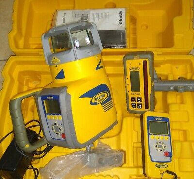 Trimble Spectra Precision Dual Slope Laser Model GL622  KIT BUNDLE