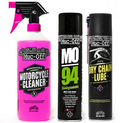 Muc-Off Motorcycle Clean, Protect & Lube Bundle