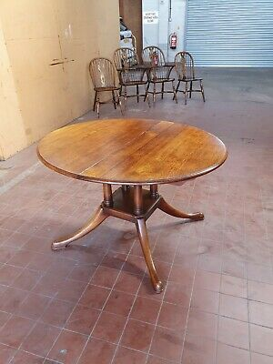 Antique/Reproduction English Oak Extending Dinning/Kitchen/Country Table