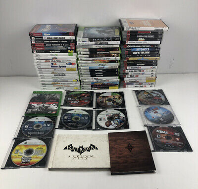 Lot of [69] Assorted Video Games; Wii PS3 Xbox One Xbox 360 PS2