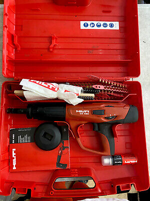 HILTI DX-460 Powder Actuated Nail Gun w/ Case