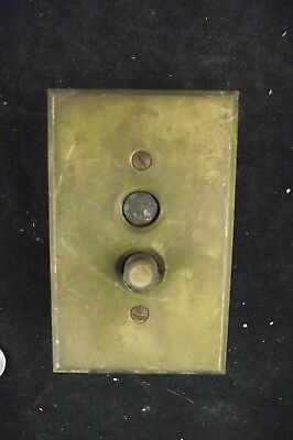 Antique Push Button Home Light Switch With Cover Mother  Of Pearl Button