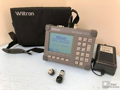 S111 Wiltron Anritsu Site Master Cable Antenna Analyzer With Ac Power Adapter