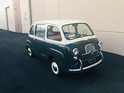 1963 Fiat 600 D Multipla  1963 FIAT 600 D MULTIPLA - 6 seater  - 4 door - 4 speed - 767cc motor - 3 owner