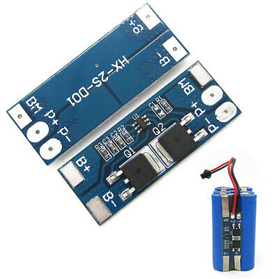 1/2/4X2S 8A 8.4V w/Balance 18650 Li-ion Battery BMS Charger Protection Board-Xia
