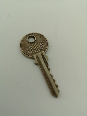 Vintage Made In England Union Key