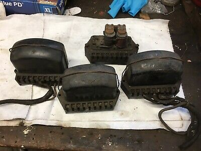 Lucas Rf 91 X 6 Volt Voltage Regulator Job Lot X4 Used