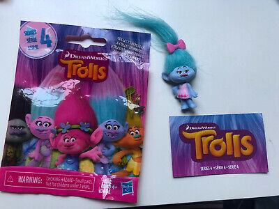 DREAMWORKS TROLLS Movie Cloud SERIES 4 BLIND BAG HIGH FIVE NEW DOLL