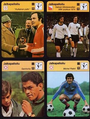Jalkapalloilu Football Soccer Card Choose [BIG SIZE]