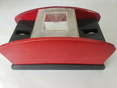 Automatic 2 Deck Card Shuffler Battery Operated