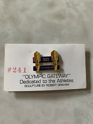 Robert Graham for the Olympic Gateway June5-July 21 1984 Pin Number #241