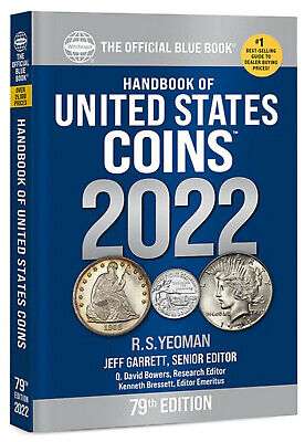 Whitman's Blue Handbook of United States Coins 2021 - Paperback Book / Guide