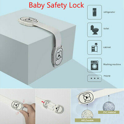 Baby Safety Door Lock Proof Cupboard Fridge Cabinet Prevent Clamping Drawer Lock