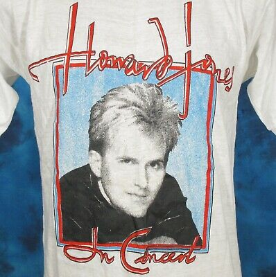 vintage 80s HOWARD JONES CONCERT T-Shirt XS/SMALL rock pop new wave tour