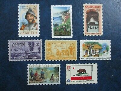 California History on Stamps