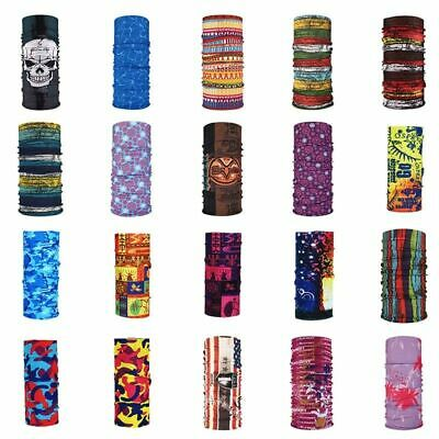 Tube Scarf Head Face Snood Neck Wrap Buff Outdoor Sport Multifunctional Bandana
