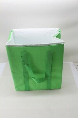 Reusable Insulated Grocery Bags Heavy Duty Nylon Thermal Cooler Tote (2 Pack)