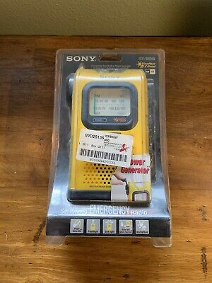Sony Emergency ICF-B05W AM/FM Weather Band Radio