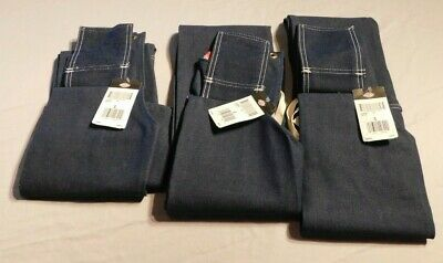 Lot of 3 Dickies Denim Bib Work Apron Size S