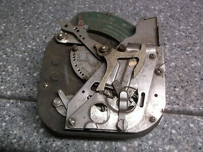 Industrial timer unexpired time stainless and green scale