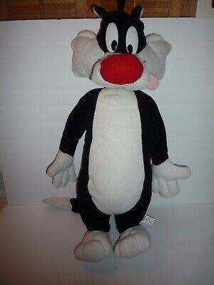 "Six Flags Magic Mountain Looney Tunes Sylvester Cat 24"" Plush"