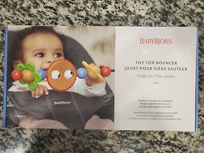 Baby Bjorn Wooden Toy for Baby Bouncer (Googly Eyes) (BabyBjorn)