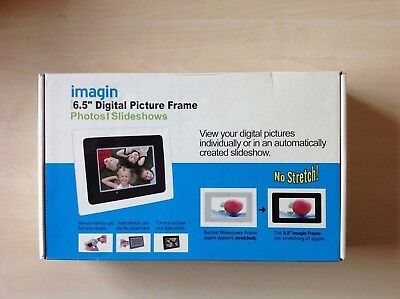 "imagine 6.5"" Digital Picture / Photo Frame. Photos / Slideshows."