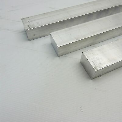 "1"" x 1.5"" Aluminum 6061 FLAT BAR 24""  Long new mill stock Pieces 3 sku A614"