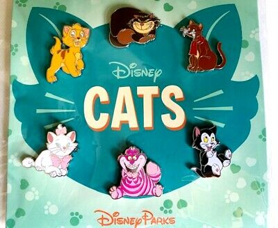 Disney Parks Cats Six Pin Booster Set New Version