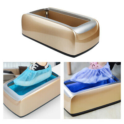 Automatic Shoe Cover Dispenser Machine Hands Free Portable Overshoe Dispense
