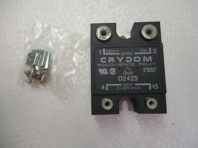 Crydom Solid-State Relay D2425 - New In Box