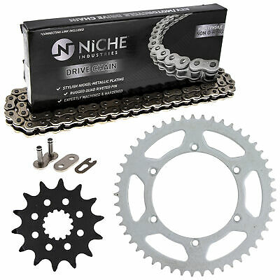 Sprocket Chain Set for Kawasaki 1999-2002 KX250 14/49 Tooth 520 Rear Front Kit