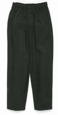 Dickies Executive Zipper Chef Pants, Black, X-Small